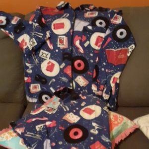 Kate Spade New York Flannel PJ Set